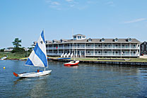 Bayview Lodge overlooking Barnegat Bay