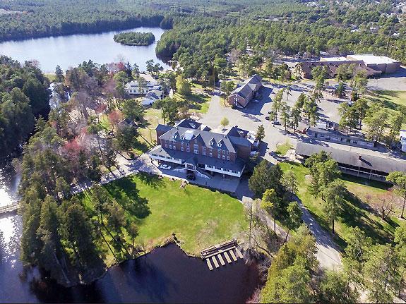 America's Keswick aerial view